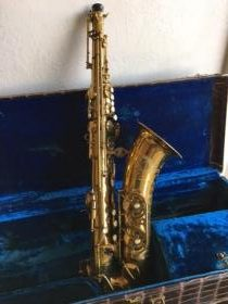 Buffet Super Dynaction tenor saxophone and case for sale at adamsmusic.com