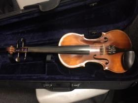 front view of guldan violin for sale adamsmusic.com