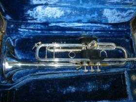 Bach Stradivarius Model 37 Silver Plated Trumpet 157799