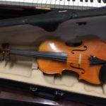 F. Breton, Brevete 4/4 Violin Number 3