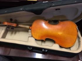 F. Breton 4/4 violin from Adam's Music in Los Angeles