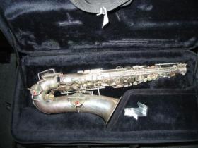 Silver Buescher True-Tone Alto Saxophone 200075