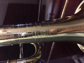 holton Stratodyne Trumpet at Adam's Music in Los Angeles