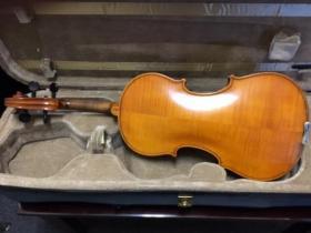 F Breton Brevete 4/4 violin from Adam's Music in Los Angeles