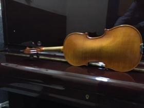 F Breton Brevete a Mirecourt 4/4 Violin