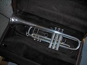 Bach Stradivarius trumpet for sale at adamsmusic.com