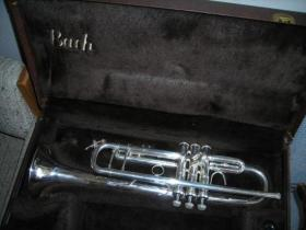 Bach Stradivarius Model 37 Silver Plated Trumpet 310871