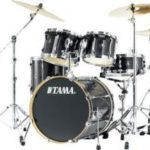 Tama Superstar SL Black PWrap 5 Piece Drum Set