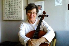 cello teacher Kathleen Hougesen