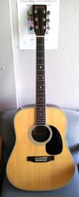 Martin D-35 Steel String Acoustic Guitar With Case