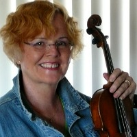 violin instruction from ann dunn at Adam's Music