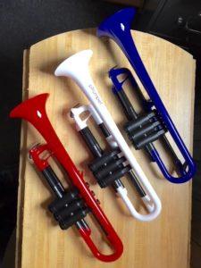 pTrumpet plastic trumpet at Adam's Music Los Angeles CA