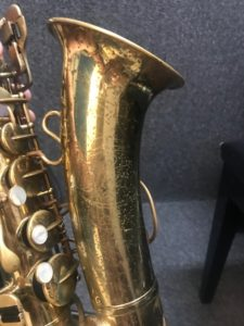 Selmer Signet alto sax 46917 at Adam's Music Los Angeles-3