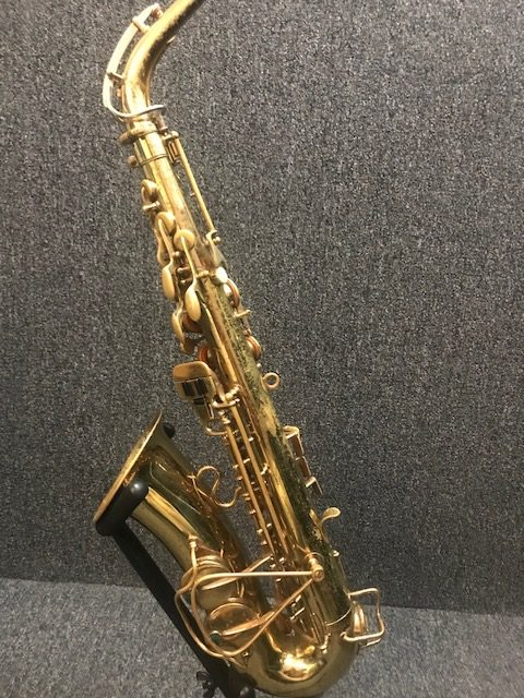Selmer Signet alto sax 46917 at Adam's Music Los Angeles