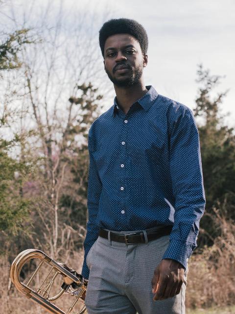 Byron Sleugh trombone lessons adamsmusic.com