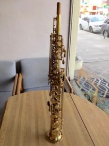 Yanagisawa soprano saxophone #06786321 for sale Adam's Music Los Angeles CA 90064