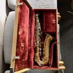 Buescher 400 Alto Sax With Tweed Case