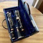 1958 Selmer Centered Tone Clarinet With Original Pouchette-Style Case