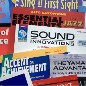 Adam's Music sheet music books