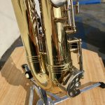 Olds alto sax closeup of serial number