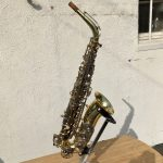 Olds alto sax overall view