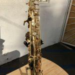 Keilwerth alto saxophone closeup of keys