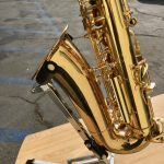 Keilwerth alto saxophone bell end
