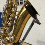 King Cleveland 613 Alto Sax with etching