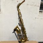 King Cleveland 613 Alto Sax reverse overall view