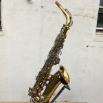 King Cleveland 613 Alto Sax keys overall view