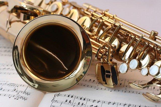 Saxophone Music Lesson Practice