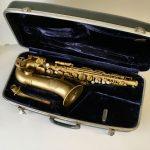 Vito alto saxophone in hardshell carry case